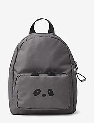 Liewood - Allan backpack - plecaki - panda stone grey - 0