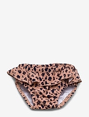 Liewood - Elise baby girl swim pants - stroje kąpielowe - mini leo/coral blush - 0