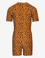 Liewood - Max Swim jumpsuit - swimsuits - mini leo/mustard - 1