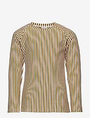 Liewood - Noah swim tee seersucker - koszulki - y/d stripe - 0