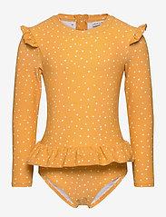 Liewood - Sille swim jumpsuit - stroje kąpielowe uv - confetti yellow mellow - 0