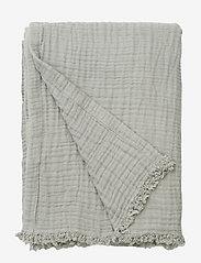 Magda muslin blanket - DOVE BLUE