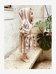 Liewood - Reggie bathrobe - bathrobes - y/d stripe - 1
