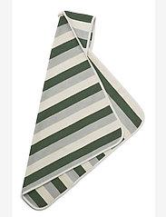 Liewood - Alba hooded baby towel - akcesoria - y/d stripe - 1