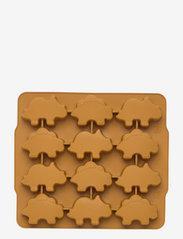 Sonny ice cube tray - 2 pack - DINO GOLDEN CARAMEL/BLUE FOG MIX