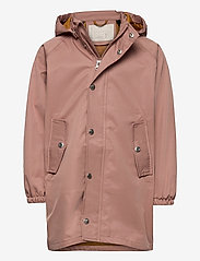 Liewood - Spencer long raincoat - kurtki - dark rose - 0