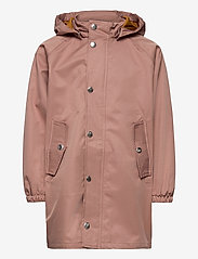 Liewood - Spencer long raincoat - kurtki - dark rose - 1