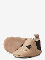 Liewood - Edith leather slippers - domowe - cat rose - 2