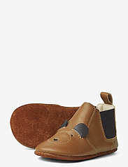 Liewood - Edith leather slippers - domowe - mr bear mustard - 2