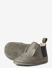 Liewood - Edith leather slippers - domowe - rabbit grey - 1