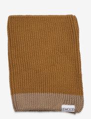 Liewood - Mathias neck warmer - accessoires - golden caramel oat mix - 0