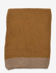 Liewood - Mathias neck warmer - accessoires - golden caramel oat mix - 2
