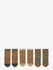 Silas cotton socks - 3 pack - GOLDEN CARAMEL MULTI MIX