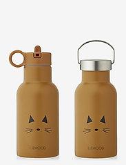 Anker water bottle - CAT MUSTARD