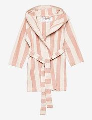 Liewood - Dana bathrobe - szlafroki - y/d stripe - 0