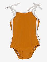 Liewood - Gigi swimsuit - swimsuits - mustard - 0