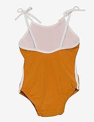 Liewood - Gigi swimsuit - swimsuits - mustard - 1