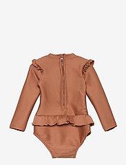 Liewood - Sille swim jumpsuit structure - uv-clothing - tuscany rose - 1