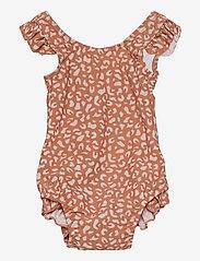 Liewood - Tanna swimsuit - swimsuits - mini leo tuscany rose - 0