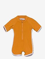 Liewood - Triton swim jumpsuit - jednoczęściowe - mustard - 0