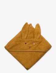 Liewood - Albert hooded towel 2-pack - accessoires - mustard mix - 0