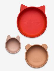 Eddie bowls 3-pack - APPLE RED/ROSE MULTI MIX