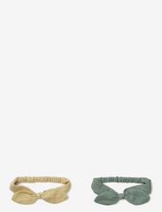 Henny headband 2-pack - WHEAT YELLOW MIX