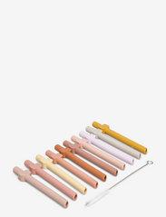 Badu straw 10-pack - ROSE MULTI MIX