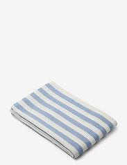 Macy beach towel - Y/D STRIPE