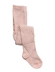 Silje Stockings - ROSE W. BLACK DOTS