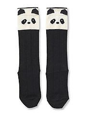 Sofia cotton knee socks - PANDA CREME DE LA CREME