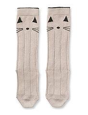 Sofia cotton knee socks