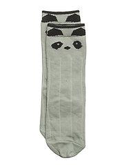 Sofia knee socks - PANDA DUSTY MINT