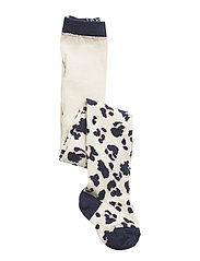 Silje cotton stocking - LEO BEIGE BEAUTY