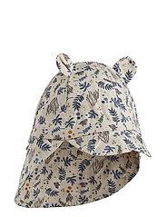 Gorm sun hat - CORAL FLORAL/MIX