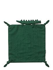 Agnete cuddle cloth - CROCODILE GARDEN GREEN