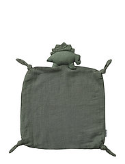 Agnete cuddle cloth - DINO FAUNE GREEN