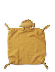 Agnete cuddle cloth - DINO YELLOW MELLOW