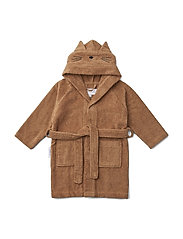 Lily bathrobe - CAT TERRACOTTA