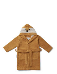 Lily bathrobe - FOX MUSTARD