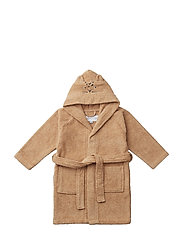 Lily bathrobe - LEOPARD APRICOT