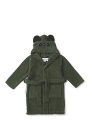 Lily bathrobe - PANDA HUNTER GREEN