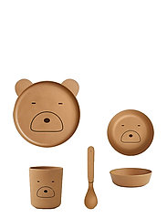 Bamboo box set - MR BEAR MUSTARD
