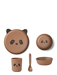Bamboo box set - PANDA TUSCANY ROSE