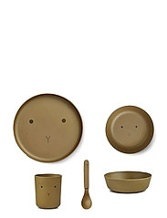 Bamboo box set - RABBIT OLIVE GREEN