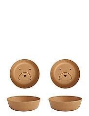 Roberta bowl - 2 pack - MR BEAR MUSTARD
