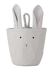 Liewood Ib fabric basket - RABBIT DUMBO GREY