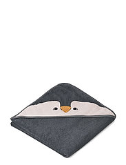 Augusta hooded towel - PENGUIN STONE GREY