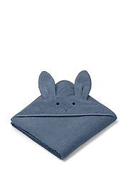 Augusta hooded towel - RABBIT BLUE WAVE