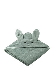 Augusta hooded towel - RABBIT PEPPERMINT